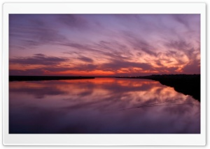 Lake Sunset HD Wide Wallpaper for Widescreen