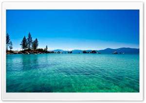 Lake Tahoe, California HD Wide Wallpaper for 4K UHD Widescreen desktop & smartphone