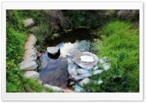 Lake Tilt-Shift Ultra HD Wallpaper for 4K UHD Widescreen desktop, tablet & smartphone