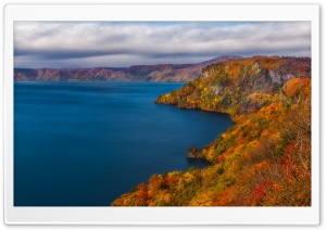 Lake Towada, Japan HD Wide Wallpaper for Widescreen