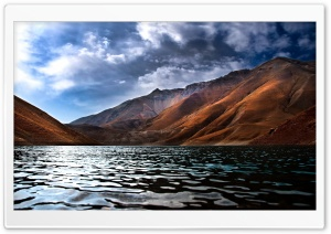 Lake View HDR HD Wide Wallpaper for Widescreen