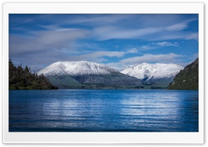 Lake Wakatipu Bay HD Wide Wallpaper for Widescreen