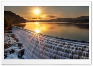 Lake-WaterFall HD Wide Wallpaper for Widescreen