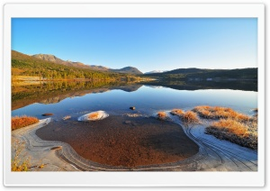 Lakes, Winter HD Wide Wallpaper for Widescreen