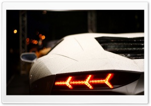 Lamborghini - Lonely Side HD Wide Wallpaper for Widescreen