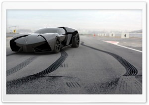 Lamborghini Ankonian Concept Car HD Wide Wallpaper for Widescreen