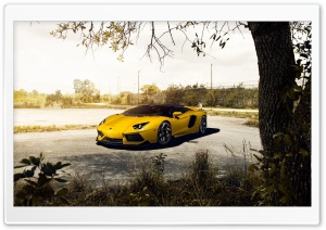 Lamborghini Aventador HD Wide Wallpaper for Widescreen