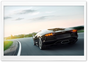 Lamborghini Aventador Art HD Wide Wallpaper for Widescreen