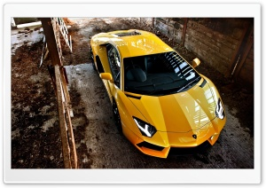 Lamborghini Aventador Car HD Wide Wallpaper for Widescreen