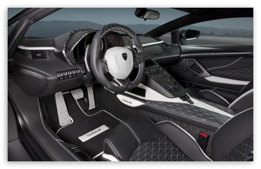 Lamborghini Aventador Lp700 4 Car Interior 4k Hd Desktop