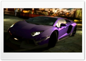 Lamborghini Aventador LP700-4 Purple HD Wide Wallpaper for 4K UHD Widescreen desktop & smartphone