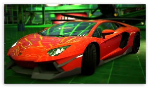 Lamborghini Aventador LP700 4 Red 4K HD Desktop Wallpaper