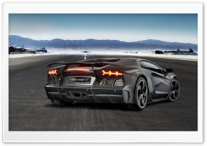 Lamborghini Aventador LP700 4 Supercar Rear HD Wide Wallpaper for Widescreen
