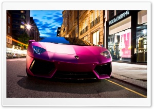 Lamborghini Aventador LP760 4 Pink Ultra HD Wallpaper for 4K UHD Widescreen desktop, tablet & smartphone