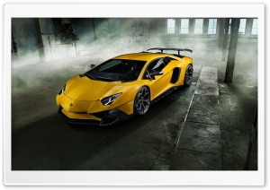 Lamborghini Aventador LP 750-4 Superveloce HD Wide Wallpaper for Widescreen