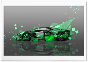 Lamborghini Aventador Side Aerography Car design by Tony Kokhan HD Wide Wallpaper for Widescreen