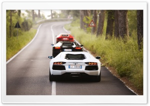 Lamborghini Cars HD Wide Wallpaper for Widescreen