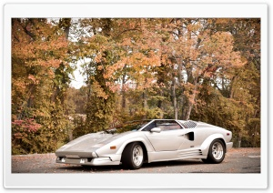 Lamborghini Countach HD Wide Wallpaper for Widescreen