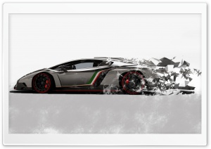 Lamborghini Dispersion HD Wide Wallpaper for Widescreen