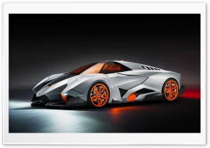 Lamborghini Egoista HD Wide Wallpaper for Widescreen