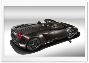 Lamborghini Gallardo Convertible 1 HD Wide Wallpaper for Widescreen
