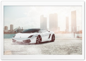 Lamborghini Gallardo Supercar HD Wide Wallpaper for Widescreen