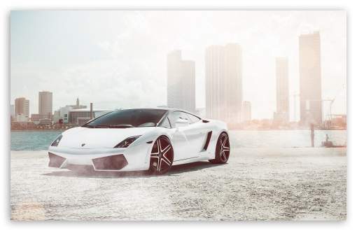 Download Lamborghini Gallardo Supercar HD Wallpaper