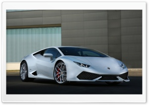 Lamborghini Huracan - 2015 HD Wide Wallpaper for 4K UHD Widescreen desktop & smartphone