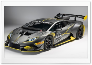 Lamborghini Huracan Super Trofeo Evo 2018 HD Wide Wallpaper for 4K UHD Widescreen desktop & smartphone