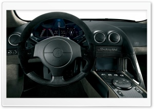 Lamborghini Interior HD Wide Wallpaper for Widescreen