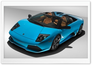 Lamborghini Murcielago LP640 Blue HD Wide Wallpaper for Widescreen
