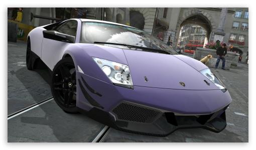 Lamborghini Murcielago LP670-4 SV Matte Purple HD wallpaper for HD 16:9 High Definition WQHD QWXGA 1080p 900p 720p QHD nHD ; UHD 16:9 WQHD QWXGA 1080p 900p 720p QHD nHD ; Mobile 16:9 - WQHD QWXGA 1080p 900p 720p QHD nHD ;