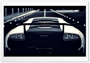 Lamborghini Murcielago Rear HD Wide Wallpaper for Widescreen