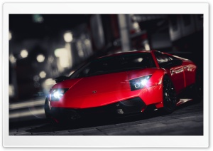 Lamborghini Murcielago SuperVeloce HD Wide Wallpaper for Widescreen