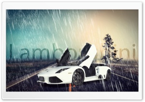 Lamborghini Poster HD Wide Wallpaper for Widescreen