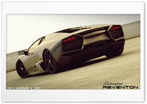 Lamborghini Reventon 3D Max HD Wide Wallpaper for 4K UHD Widescreen desktop & smartphone