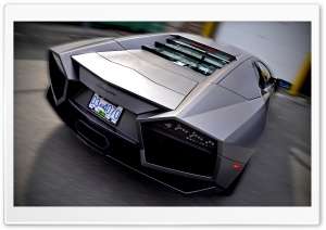 Lamborghini Reventon Rear HD Wide Wallpaper for Widescreen