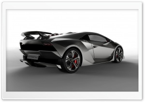 Lamborghini Sesto Elemento Concept HD Wide Wallpaper for 4K UHD Widescreen desktop & smartphone