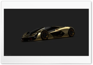 Lamborghini terzo millenio 4K Render by Alireza Pourjabbar HD Wide Wallpaper for 4K UHD Widescreen desktop & smartphone