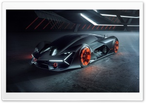 Lamborghini Terzo Millennio Electric Sports Car Ultra HD Wallpaper for 4K UHD Widescreen desktop, tablet & smartphone