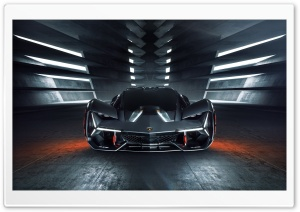 Lamborghini Terzo Millennio Electric Supecar Ultra HD Wallpaper for 4K UHD Widescreen desktop, tablet & smartphone