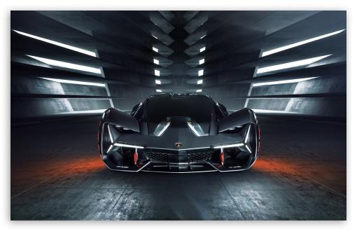 Lamborghini Terzo Millennio Electric Supecar 4K HD Desktop