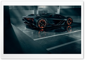 Lamborghini Terzo Millennio is a Self Healing Electric Supercar Ultra HD Wallpaper for 4K UHD Widescreen desktop, tablet & smartphone