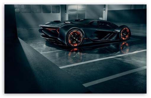 Download Lamborghini Terzo Millennio is a Self Healing... UltraHD Wallpaper