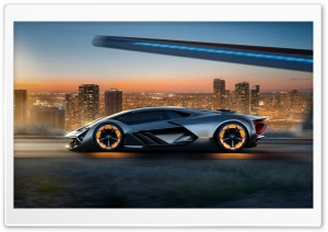 Lamborghini Terzo Millennio Self-healing Electric Sports Car Ultra HD Wallpaper for 4K UHD Widescreen desktop, tablet & smartphone