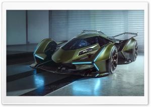 Lamborghini V12 Vision Gran Turismo Car Ultra HD Wallpaper for 4K UHD Widescreen desktop, tablet & smartphone