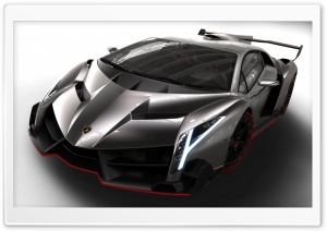 Lamborghini Veneno HD Wide Wallpaper for Widescreen