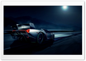 Lamborghini Veneno Supercar HD Wide Wallpaper for Widescreen