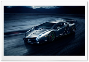 Lamborghini Veneno Supercar Ultra HD Wallpaper for 4K UHD Widescreen desktop, tablet & smartphone