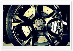 Lamborghini Wheel HD Wide Wallpaper for Widescreen